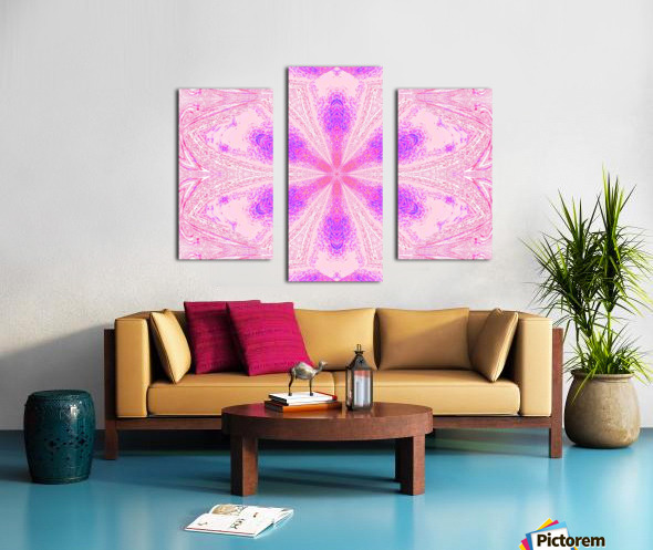 Flower in Pink Light Canvas print