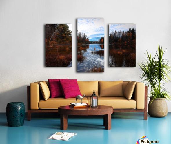Reflet Impression sur toile