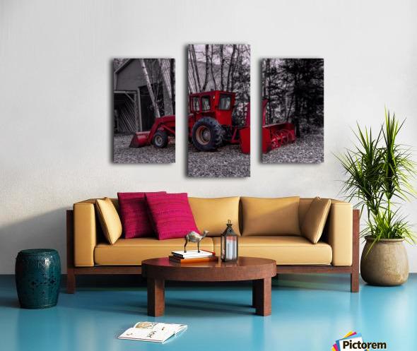 Contraste Impression sur toile