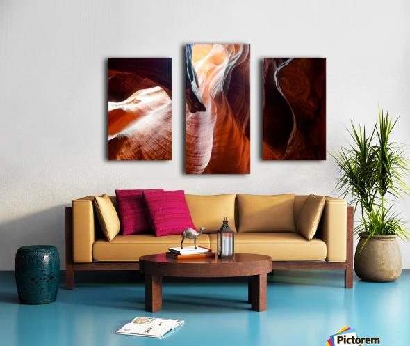Upper Antelope Canyon 3 Canvas print