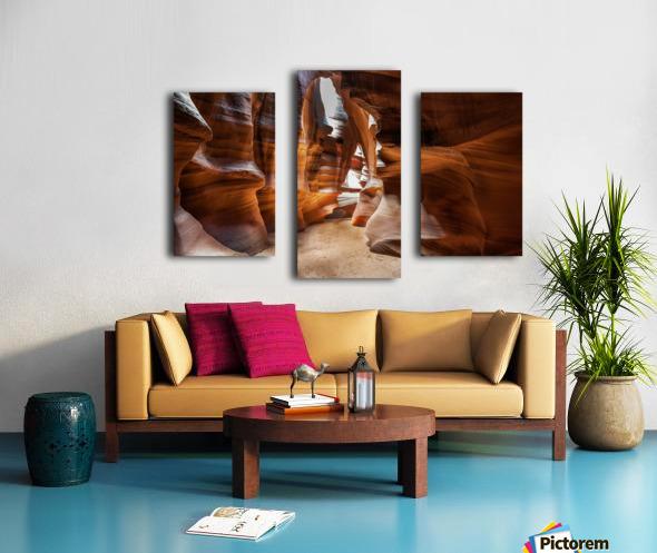 Upper Antelope Canyon 9 Canvas print