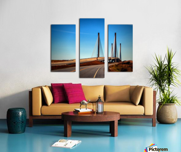 Indian River Bridge North Approach Canvas print
