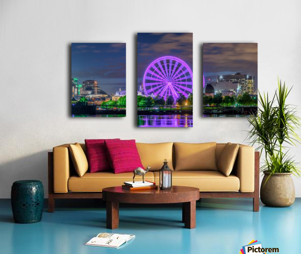 _TEL0646 HDR 1 2 Canvas print