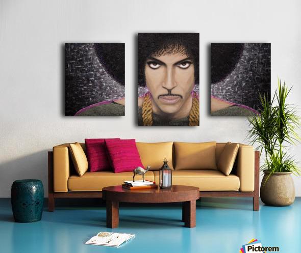 Purple Transcendence Canvas print