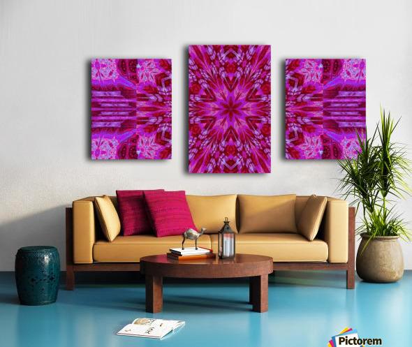 Wildflower in Pink Bloom Canvas print