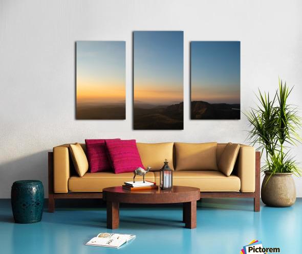 Calming Sunset Canvas print