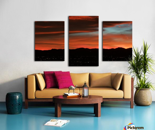 SkyFire Canvas print