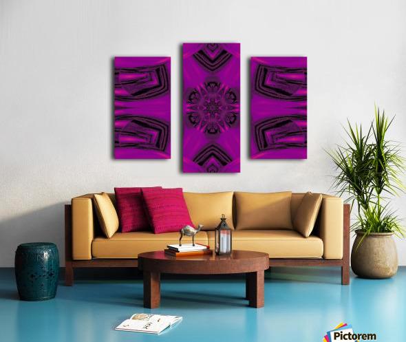 Purple Desert Song 37 Canvas print