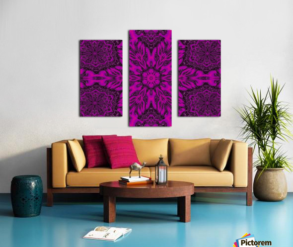 Purple Desert Song 39 Canvas print