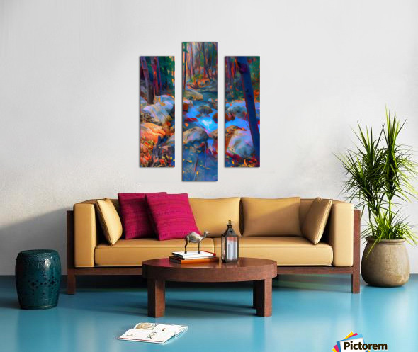 San Gabriel spring Canvas print