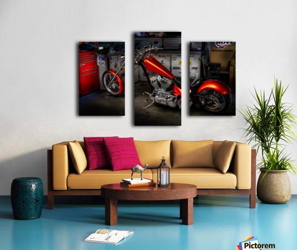 Bike Edit Canvas print