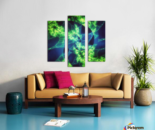 Neurospiral Canvas print