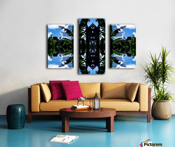 natural 3 Canvas print