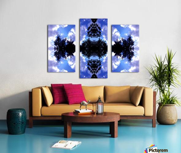 Nube 8 Canvas print