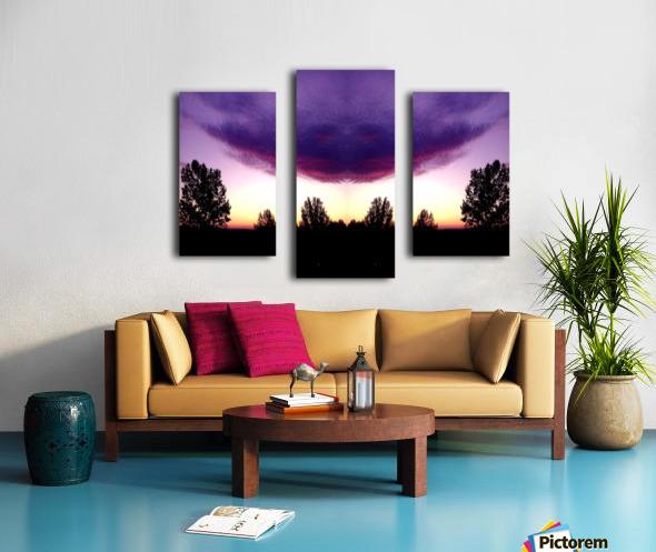 nube 50 Canvas print