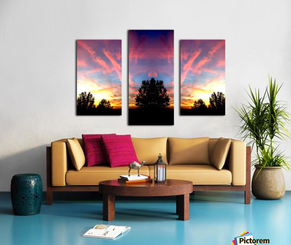 nube 58 Impression sur toile