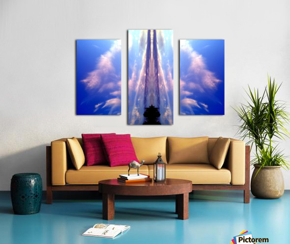 Cloud 60 Canvas print