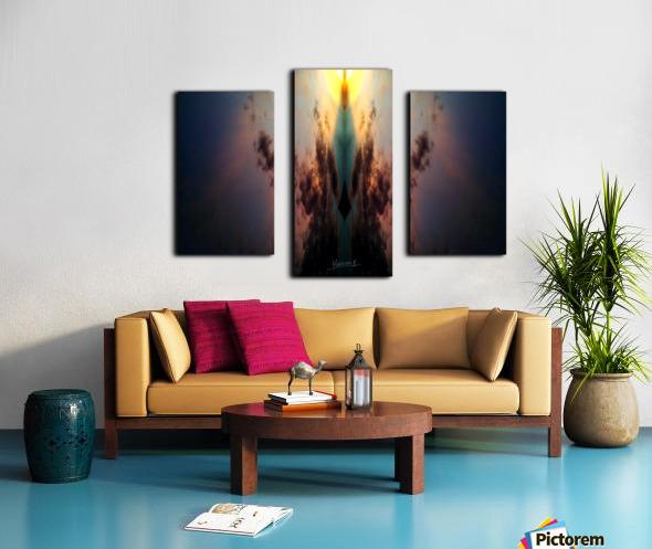 Skipe 4 Canvas print