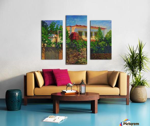 Little_Spanish_House Canvas print