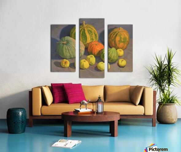 Pumpkins_And_Apples Canvas print