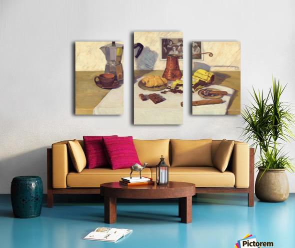 Still_Life_With_Coffee_50x80 Canvas print