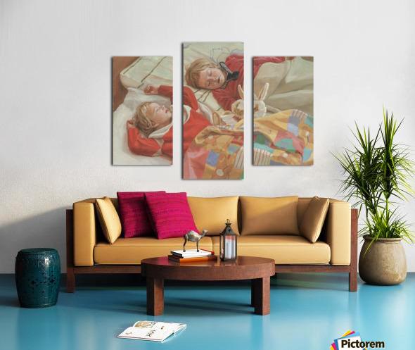 Golden_Slumbers Canvas print