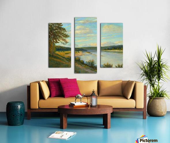 Okah_River_In_August Canvas print