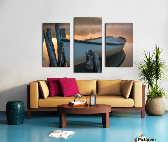 Caught in the Moment Canvas print