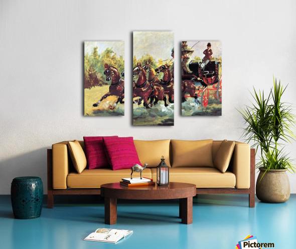 Count Alphonse de Toulouse-Lautrec Canvas print