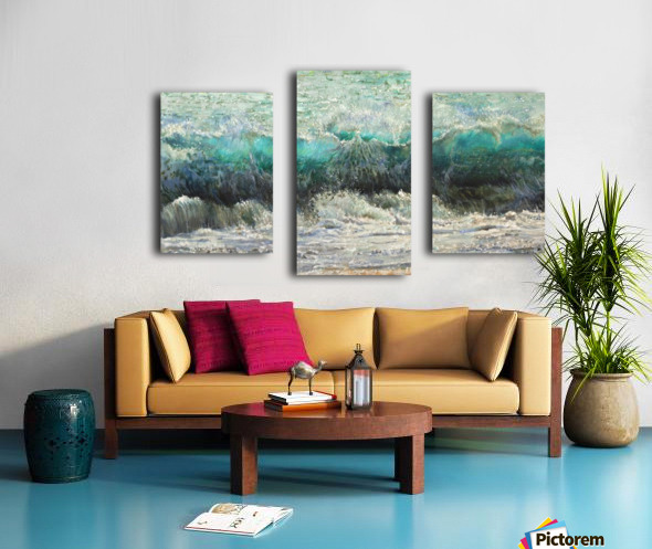 The_Wave Canvas print