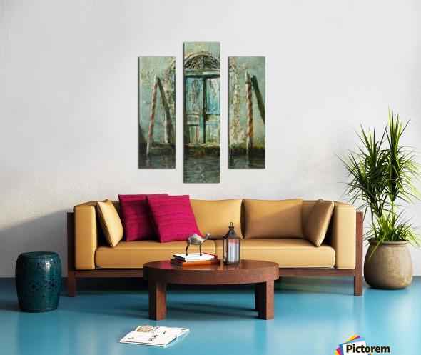 Venetian_Door Canvas print