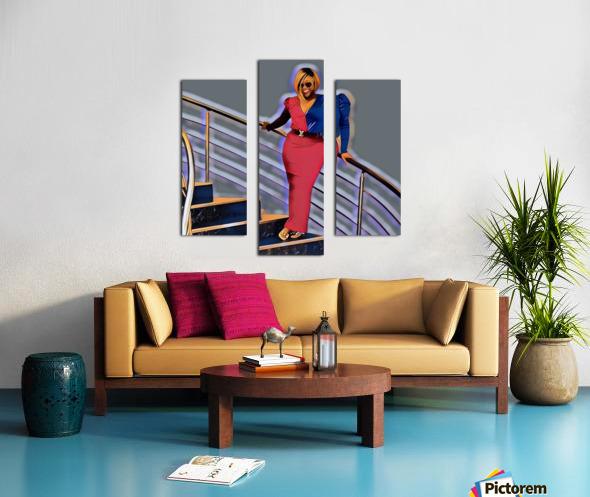 Balustrade Canvas print