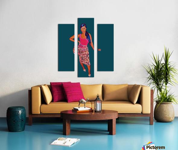 purposeful Canvas print