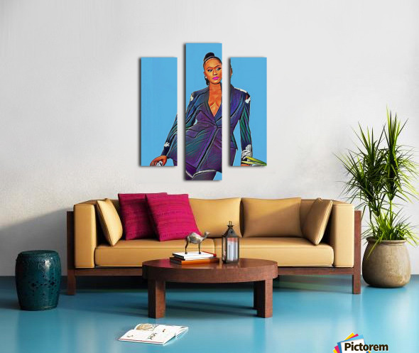 Reminisce Canvas print