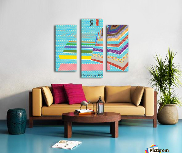 Patchwork by dePace Canvas print