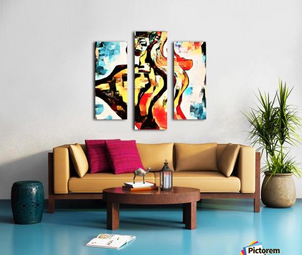 FraGmenTs C Canvas print