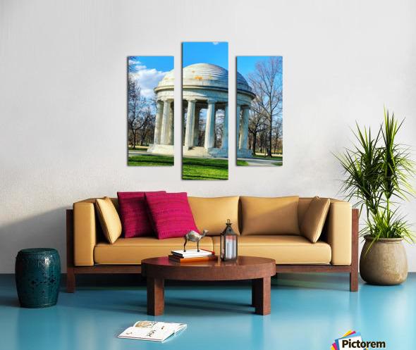 DC War Memorial Canvas print