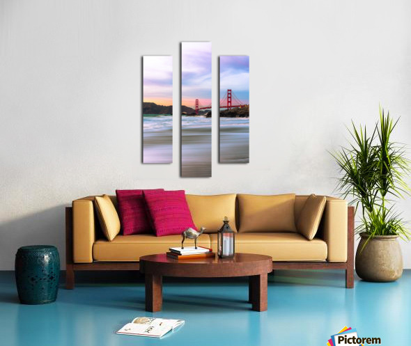 Symphony of Light Canvas print