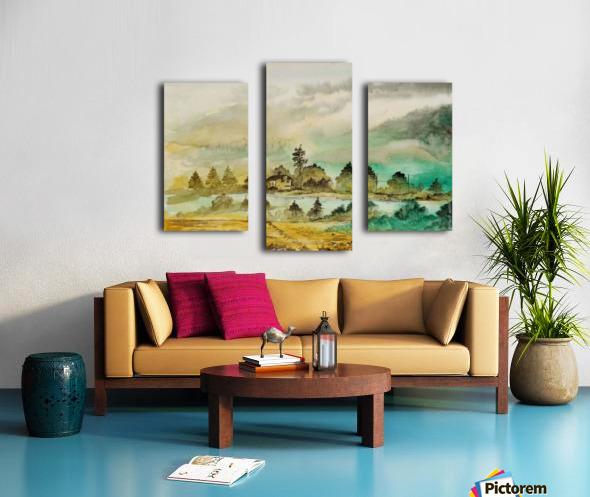 Village_DKS Canvas print