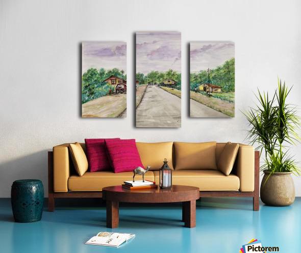 Way to Goa_DKS Canvas print