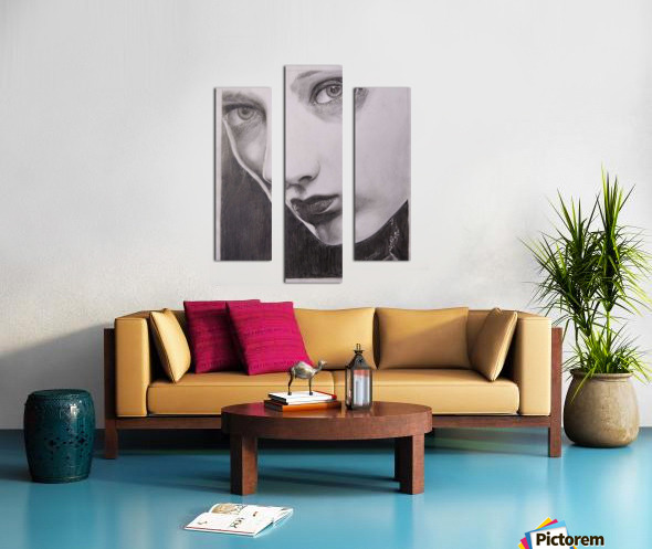 Beauty_DKS Canvas print