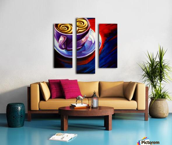 Coffee Impression sur toile