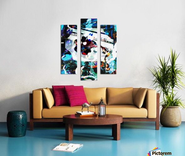 Strumming Patterns Canvas print