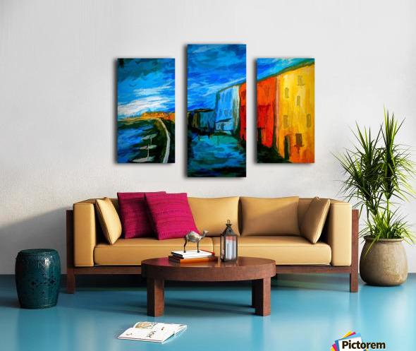 The Boardwalk v2 Canvas print