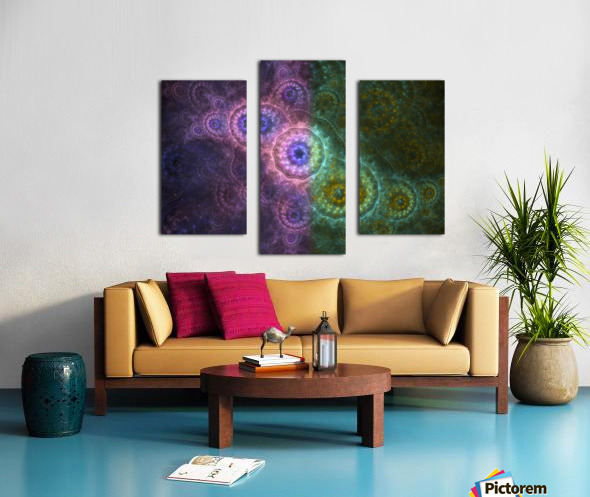 Path of Harmony Canvas print