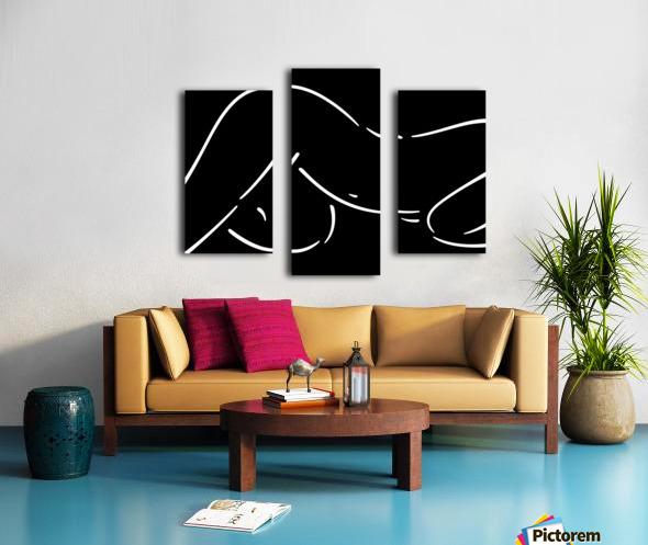 Nude 18 Canvas print