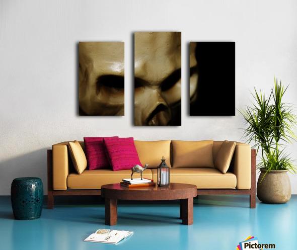 Skeleton Head Canvas print
