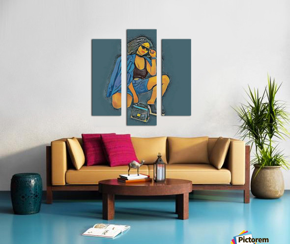 Superspy Impression sur toile
