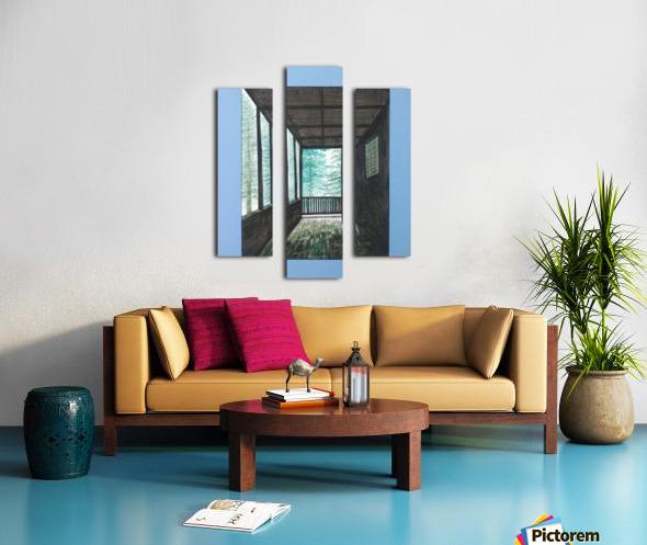 Guest House_DKS Impression sur toile