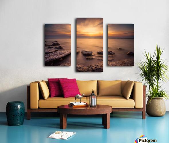 Point Petre Sunset Canvas print